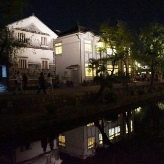 ハートランド倉敷  夜の川舟流し.jpg