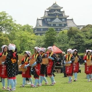 岡山 後楽園 岡山城 茶摘み.jpg