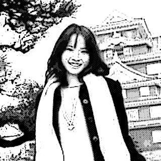 岡山城 と松 秋冬 スケッチ.jpg